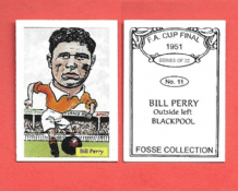 Blackpool Bill Perry England 11 (FC)